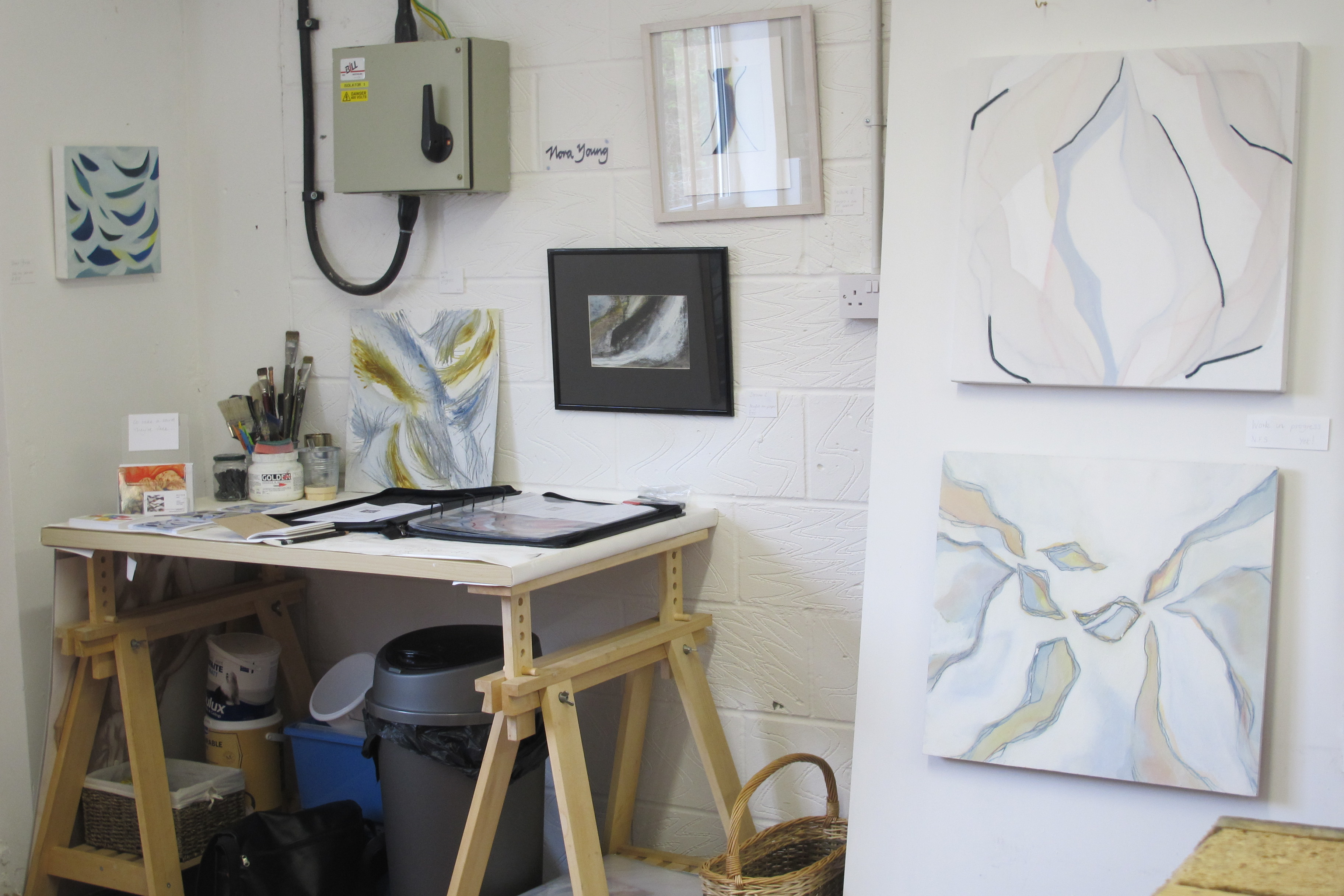 Nora Young .... Artist | Worthing Art Studios